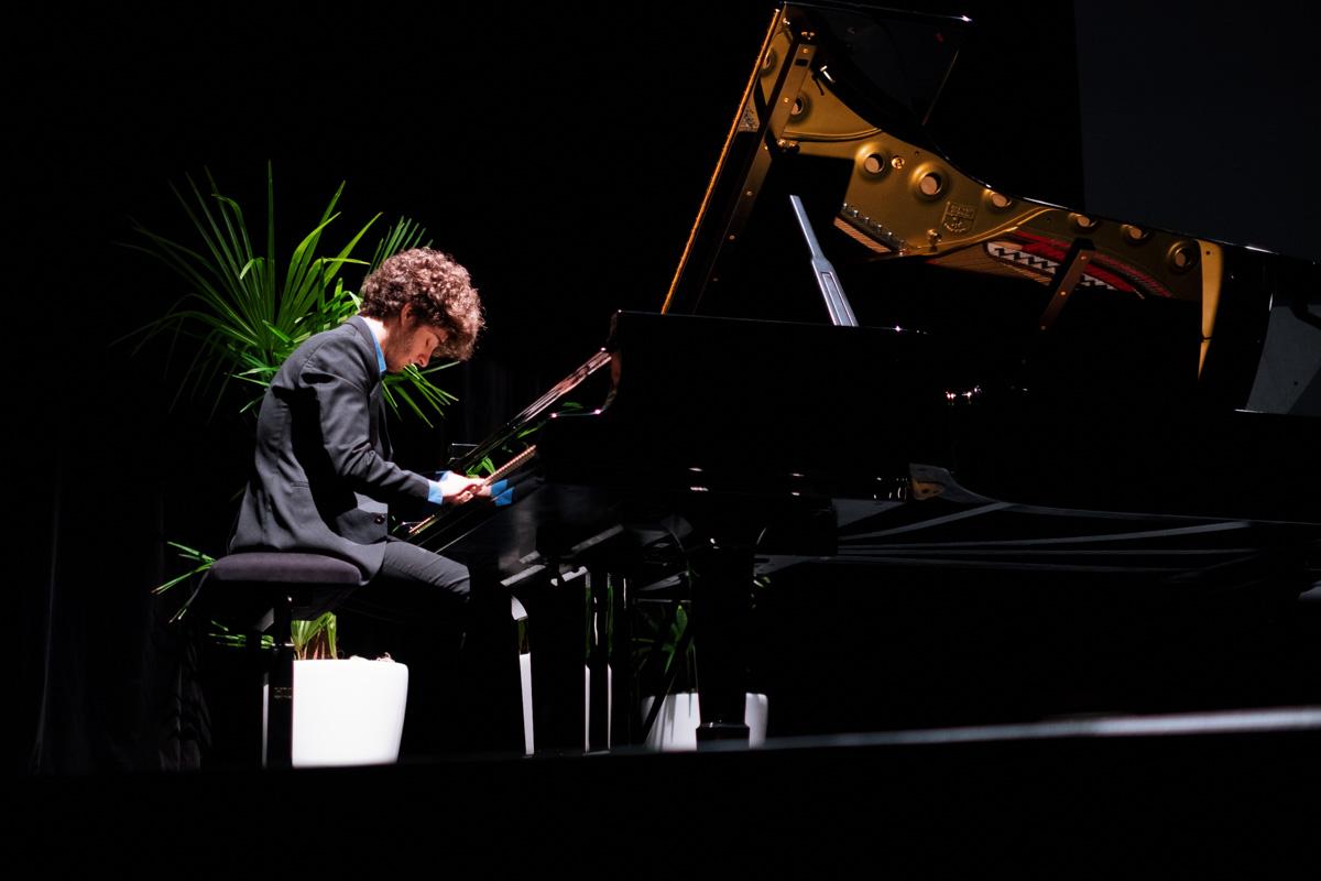 Concerto au piano interprété par Gaspard Thomas