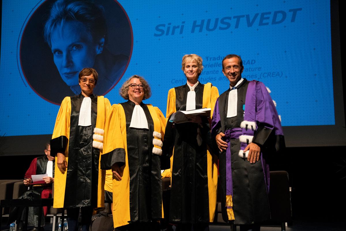 Siri Hustvedt est à son tour récompensée