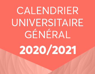 Point Commun   Calendrier Universitaire 2020/2021