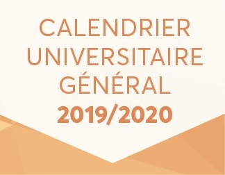 Calendrier Annuel 2020 2020.Point Commun Calendrier Universitaire 2019 2020