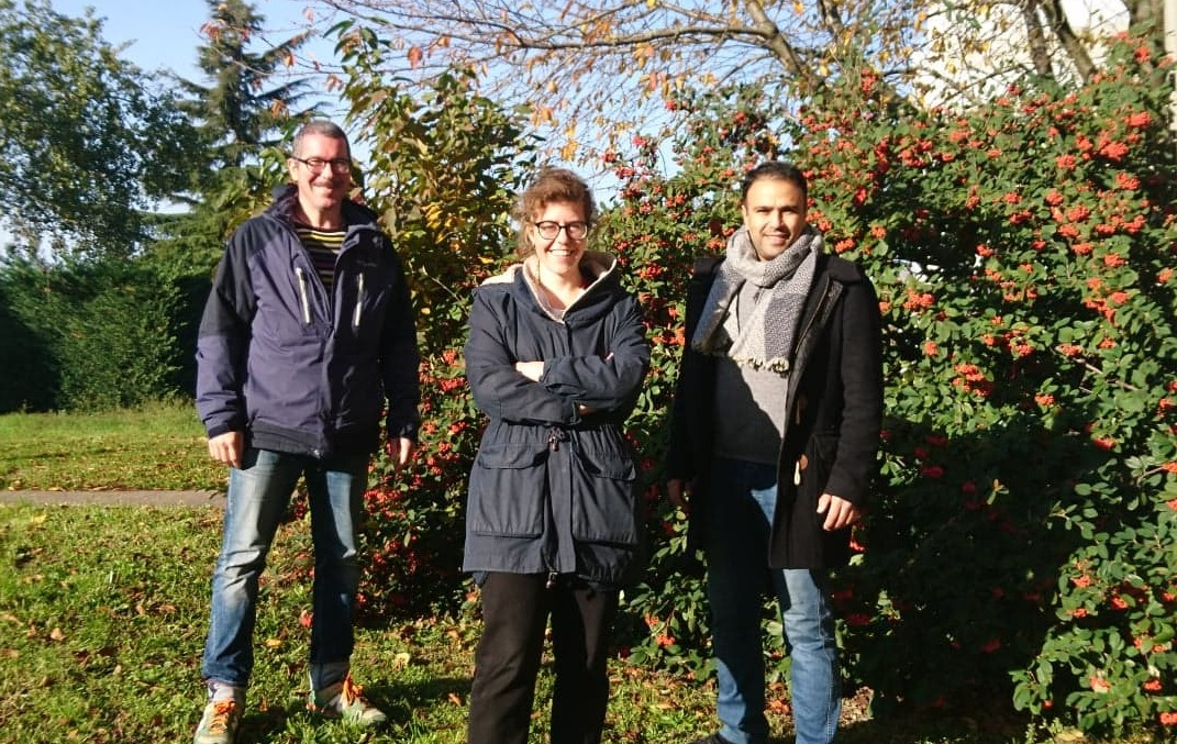 Arnaud, Lucia et Youssef