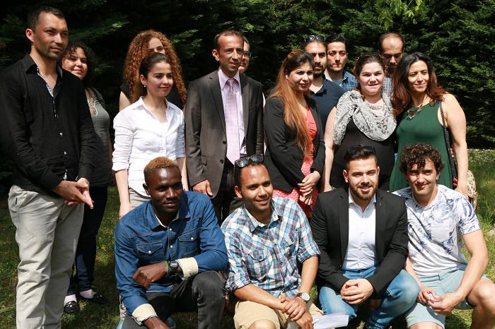 Remise des diplômes à nos étudiants en situation d'exil